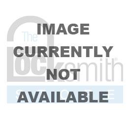 AM-A1105CLR KD PADLK, CLEAR, SILVER  1-1/2